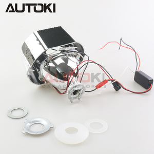 Image 3 - AUTOKI New X5 R 2.0 Sports LED Angel Eyes+ Bi Xenon Lens Projector For Car Retrofit Daytime Running Light 2.5/3.0 H4 H7 9005