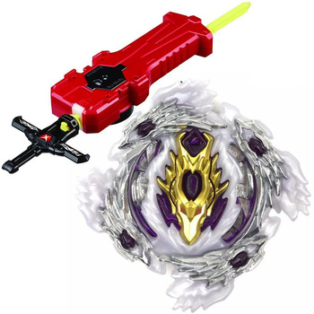 Spinning Top  BURST B-110 Starter Bloody Longinus.13.Jl With Sword Launcher Factory Supply Toys Children Gift spinning top burst b 104 starter winning valkyrie 12 vl toys attack pack for children burst