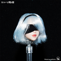 1/6 Scale Female Accessories Neil Machinery Age 2b Sister can move eyes Head Carving Sculpt Fit 12 Inch Phicen Action Figure