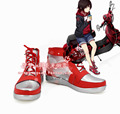 RWBY Ruby motocicleta versión cos Cosplay Shoes boots bota zapato # TB091 de Halloween Navidad