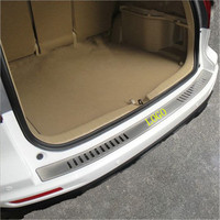 Stainless steel rear bumper protection window sill external decorative plate pedal for Honda CRV CR V 2007 2011 Car styling
