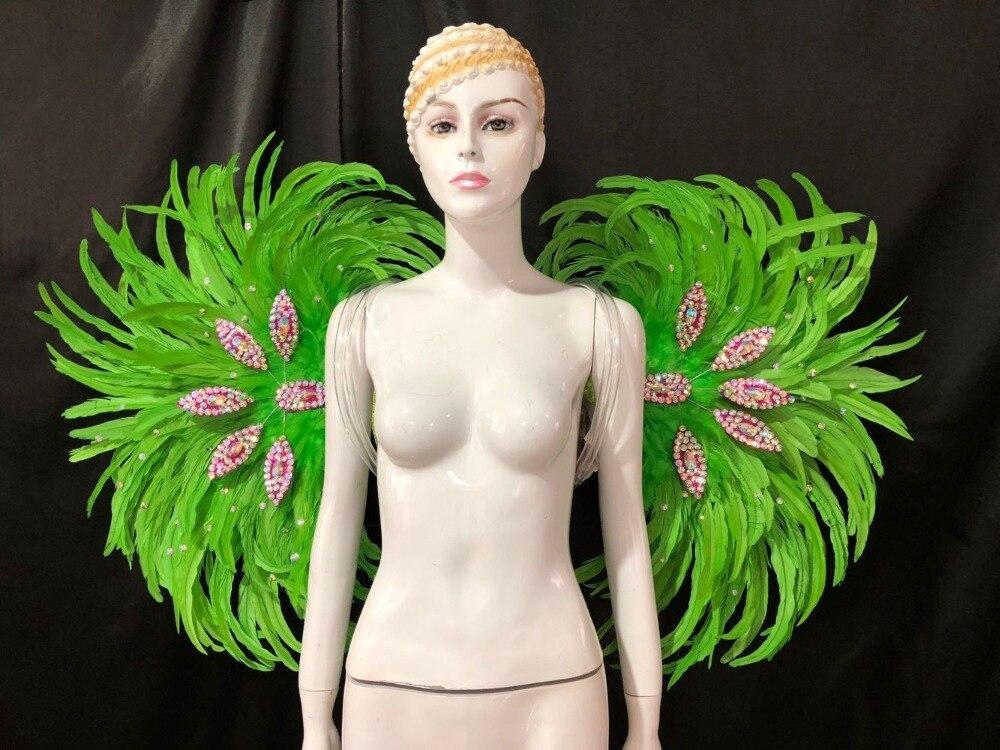 Lo spettacolo di danza copricapo di piume di accessori di abbigliamento La FESTA La Maschera IL
