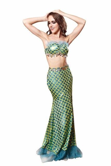 Sexy Mermaid Costume Halloween Costume For Woman Fish Scales Pattern Custom Mermaid Costume Pattern