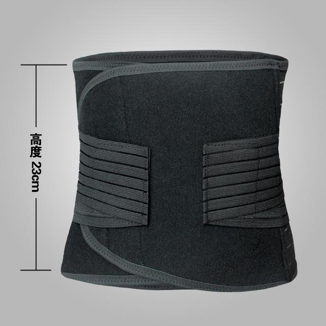 Trainer cintura controle Tummy controle cinto de emagrecimento barriga grande cintura Cinchers cinturão Muscle Inner do Shaper do corpo envoltório
