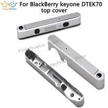 Sliver/สีดำคุณภาพสูงฝาครอบฝาครอบด้านบนสำหรับ BB BlackBerry keyone DTEK70 กรอบ