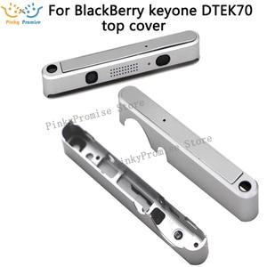Image 1 - Sliver/Black quality up cover top cover Housing Case For BB BlackBerry keyone DTEK70 frame
