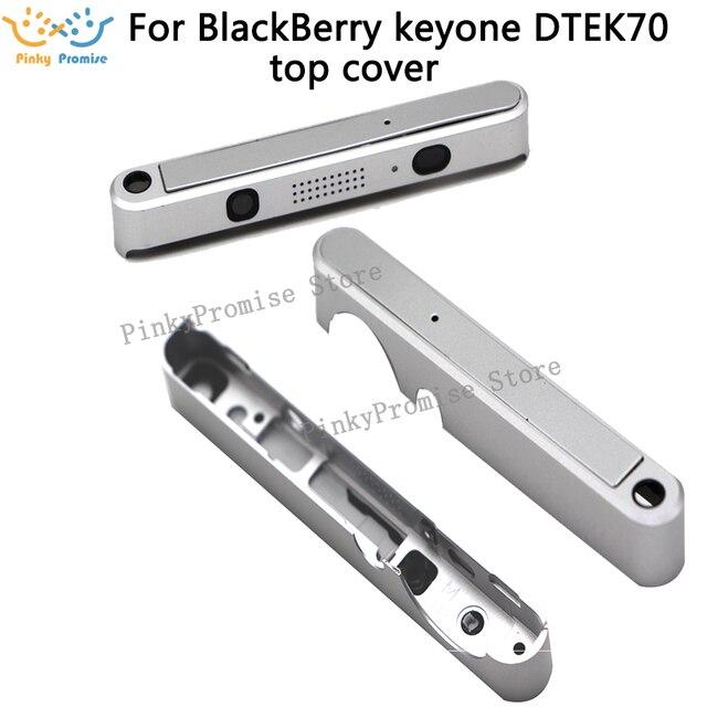 Sliver/Black quality up cover top cover Housing Case For BB BlackBerry keyone DTEK70 frame