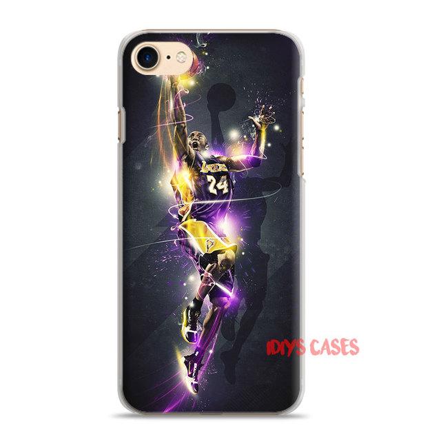 Kobe Bryant hard plastic Phone Case Cover Los Angeles Lakers Shell For Apple iPhone 7PLUS 7 6SPLUS 6S 6PLUS 6 5 5S SE 4 4S