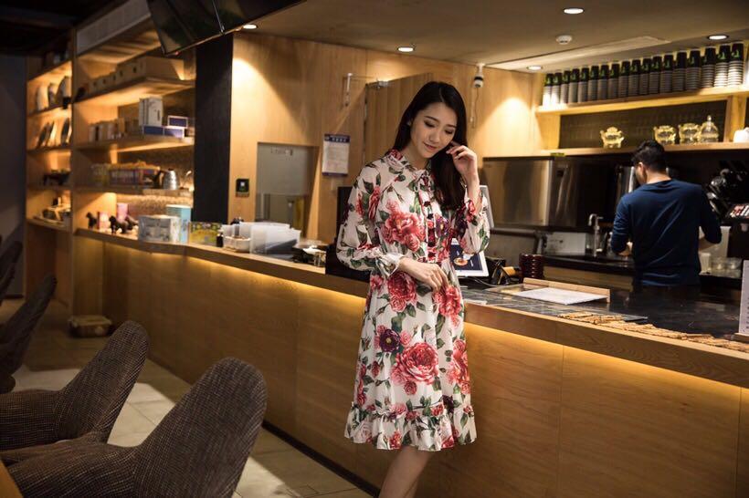 Nouvelle Mode Européenne Design Style Printemps Qualité Célèbre De Supérieure Partie Luxe Femmes 2019 D02357 Robe Marque ECx7q57
