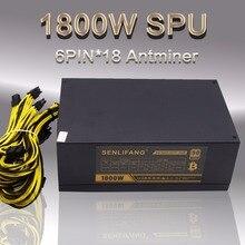 6PIN * 18 Antminer APW3 + +-12-1800-A3, 1600 watt stromversorgung BITMAIN APW3 + NETZTEIL Serie, ETH NETZTEIL, antminer S9 S7 L3 + NETZTEIL für bitcoin miner