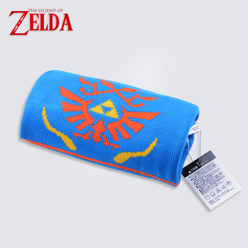 The Legend of Zelda Hailar Krieger Spiel Blau Orange Schal Frauen ...