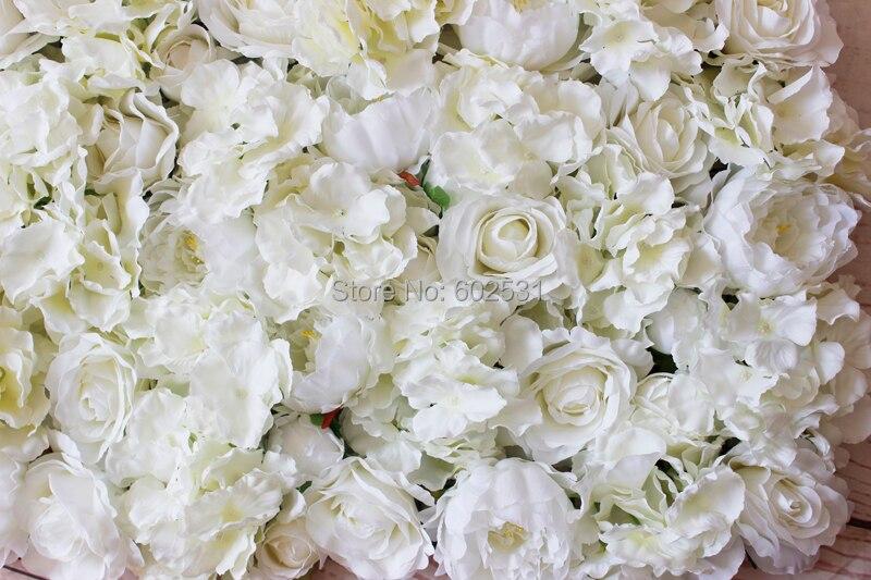 Us 2300 Spr Freies Verschiffen 10 Teilelos Künstliche Rose Pfingstrose Hortensien Blume Wand Hochzeit Hintergrund Event Planung Floral Markt