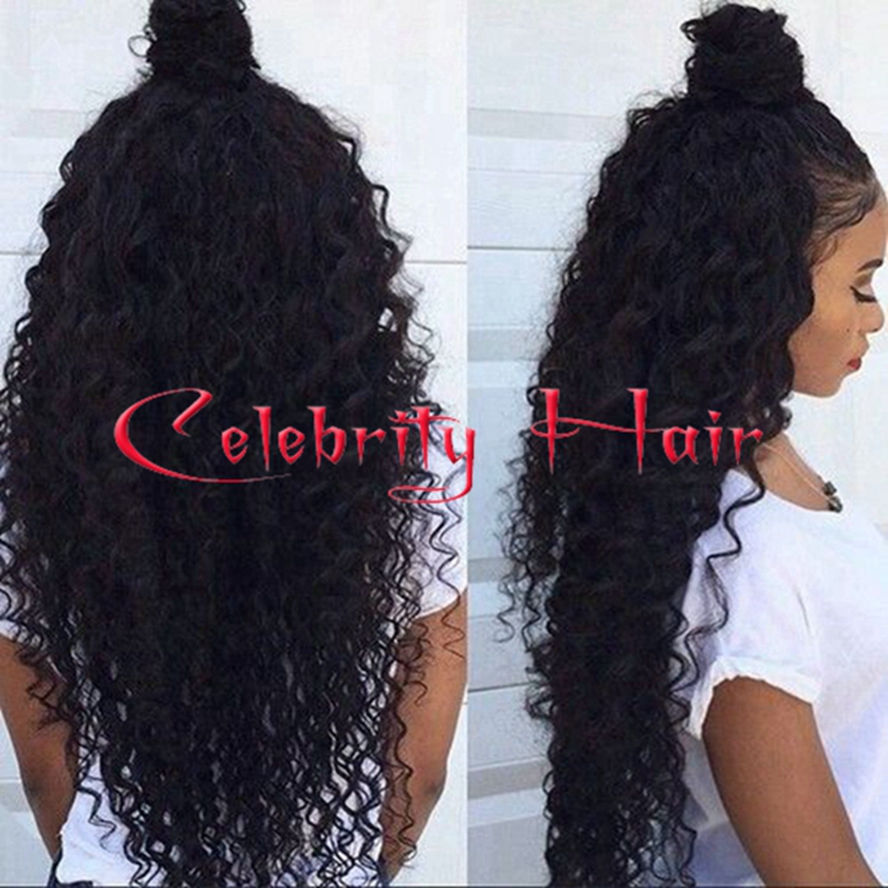 High Quality Heavy Density Afro Kinky Curly Synthetic Lace Front Wigs Glueless With Baby Hair Natural Hairline For Black Women