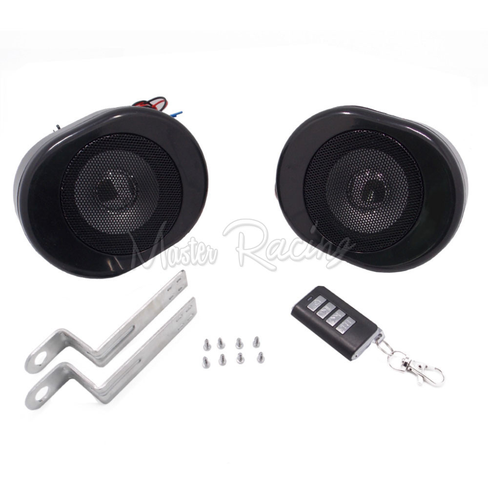 Motorcycle MP3 Speake Player Anti-theft Security Alarm System With TF Card USB AUX FM Radio Stereo Audio Scooter ATV Bike Moto motorcycle handlebar car audio fm tf mp3 usb sd handle bar stereo 2 speakers amplifier sound system alarm motorbike anti theft