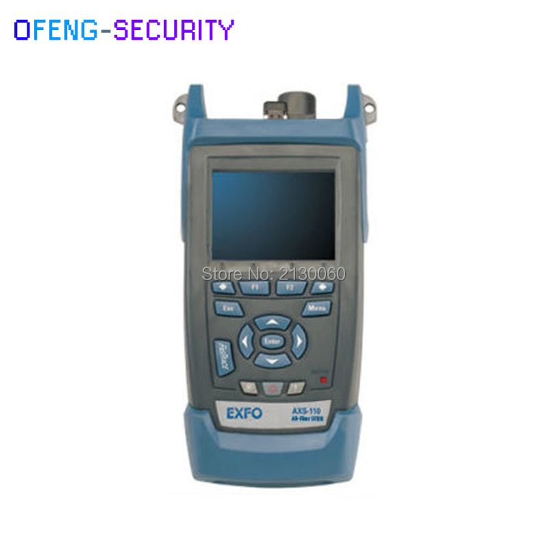 Handheld EXFO OTDR AXS-110-23B-04B 1310/1550nm, 37/35dB,Integrated VFL, Touch Screen Optical Time Domain Reflectometer EXFO OTDR
