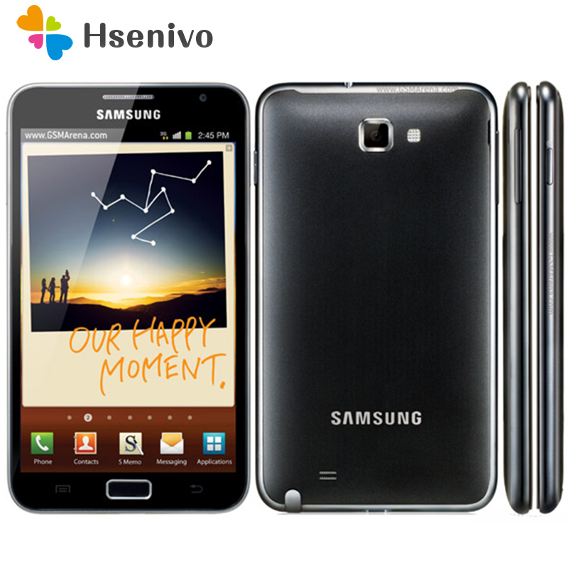 Original samsung Galaxy note i9220 n7000 EU version Dual Core 5,3 ''Android handy 8MP Wifi GPS touch SCreen renoviert