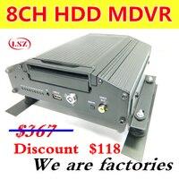 MDVR завод утвержден 8 канальный видеорегистратор с жестким диском автомобиля переносимых видео лента высокой четкости сейсмическая широкий