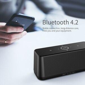 Image 5 - MIFA A30 TWS אלחוטי נייד מתכת מלא מסך תצוגת Bluetooth רמקול 30W כוח OSD מגע בקרת רמקולים עם מעורר שעון