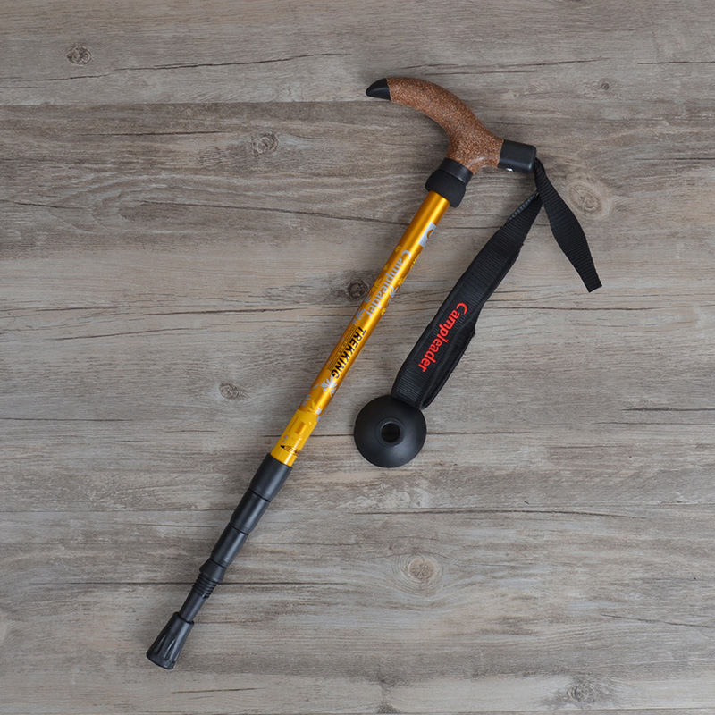 Image 4 - VILEAD Portable 47 95cm Cork Walking Sticks 7075 Aluminum Nordic Ultra light Outdoor Travel Hiking Trekking Poles Cane Climb-in Walking Sticks from Sports & Entertainment