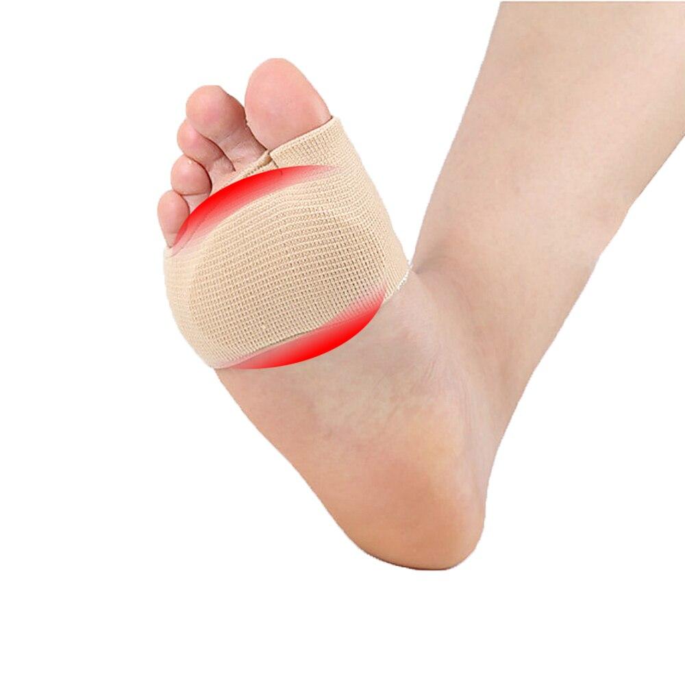 1 Paar Gel Hülse Schmerzhaft Mittelfuß Köpfe Morton Vorfuß Pads Flache Splay Fuß Druck Relief Schwielen Fußpflege Werkzeug