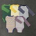 2017 Nuevos mamelucos del bebé lindo del algodón del bebé traje de cuerpo Caliente bebé ropa de niño Recién Nacido Bebé de la manga completa 1 unidades Roupas para el bebé boy