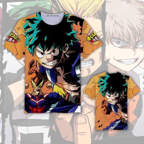 My Hero Academia Top Quality T-shirt