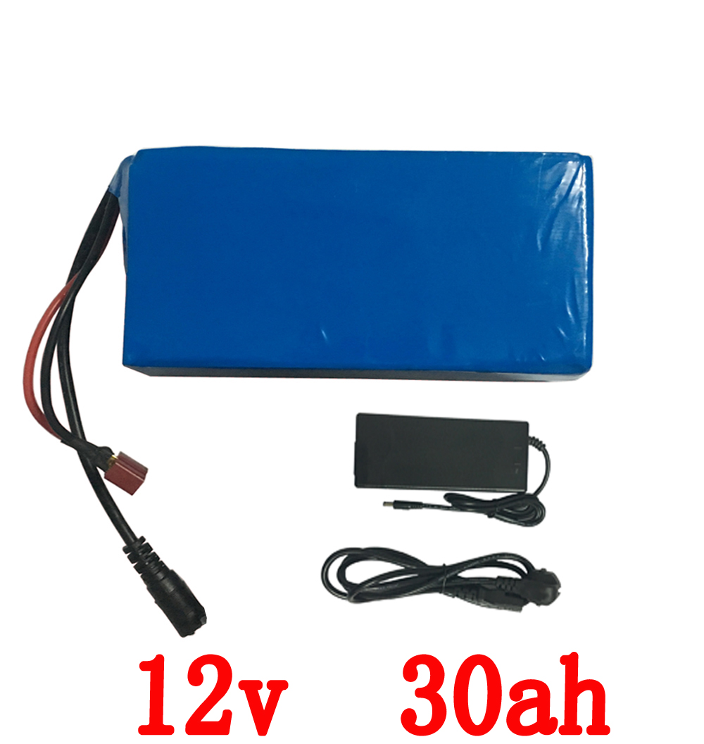 12v 30ah 30000mah  Lithium polymer battery 12v DC li-ion lithium pack for 200w golf trolly cart backup power 12 cctv camera solar charger special single section li ion battery charging board lithium polymer battery