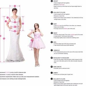 Image 5 - 2020 богемное женское платье с V образным вырезом и длинным рукавом