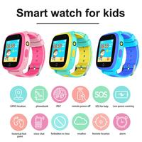 Q11 Children's Smart Watch SIM Card Color Touch Screen Dual Positioning One Button SOS Smart Watch For Boy Girl Birthday Gift