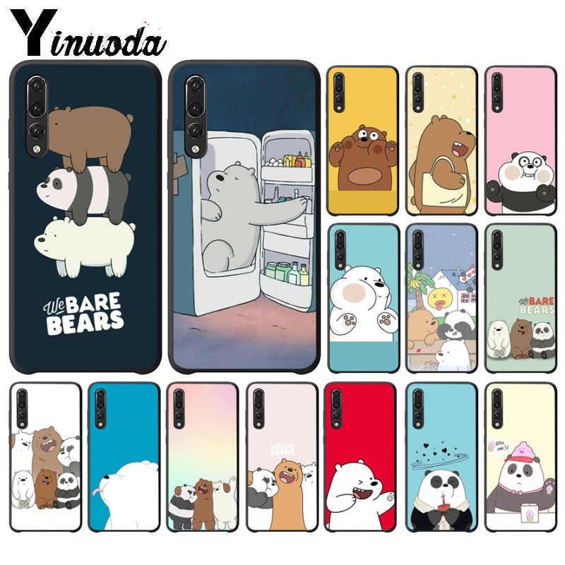 Yinuoda 私たちは裸クマ素敵な漫画 DIY 印刷電話ケース huawei 社 P10 プラス 20 プロ P20 lite mate9 10 lite honor 10 view10