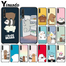 Yinuoda we bare bears lovely cartoon DIY Printing Phone Case for Huawei P10 plus 20 pro P20 lite mate9 10 lite honor 10 view10