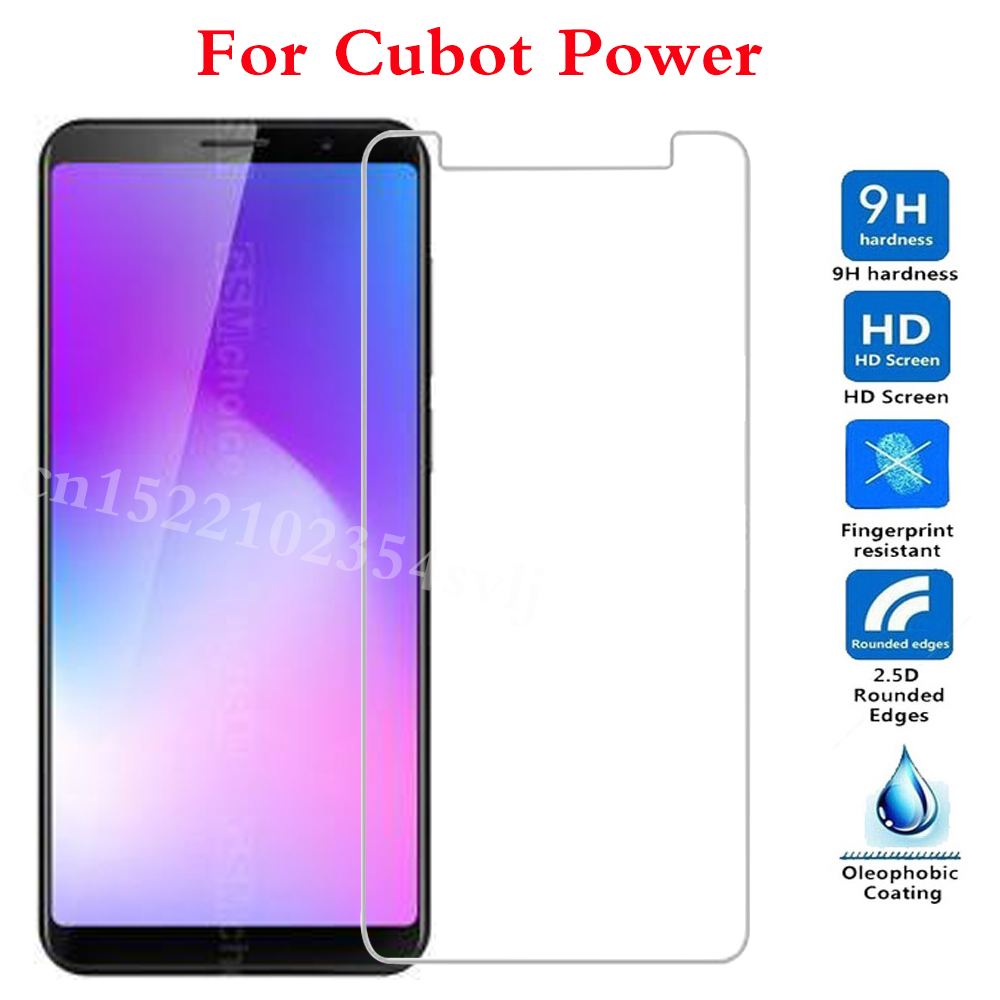 Smartphone Tempered Glass For Cubot Power Protective Film Screen cover phone For Cubot H3 Bobby S208 S168 Manito P12 S600 Z100 >(China)