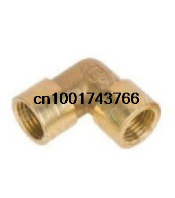 5pcs 1/2 BSP Female Elbow Connection Pipe Brass Coupler Adapter set 3pcs 3 4 1 2 female inch bsp length 33 5mm connection thicken brass pipe adapter coupler connector 232psi