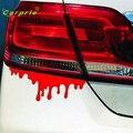Auto carro Fresco adesivos Vermelho Sangue DIY veículo Corpo Etiqueta do carro do Emblema do emblema car styling-cobre personalidade auto acessórios Jul14