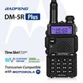 Baofeng dm-5r além disso dual band rádio dmr digital walkie taklie transceptor 1 W 5 W VHF UHF 136-174/400-520 MHz Rádio Em Dois Sentidos 2000 mAH