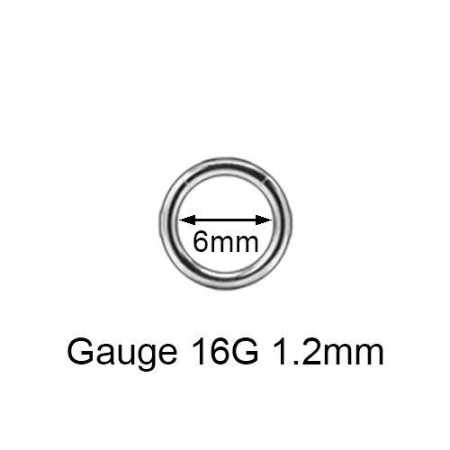 16G 14G Segment Nose Rings...