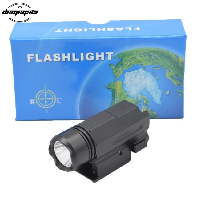 Pour Glock Pistolet Flash Light Lumiere Arme Tactique Torche Lampe