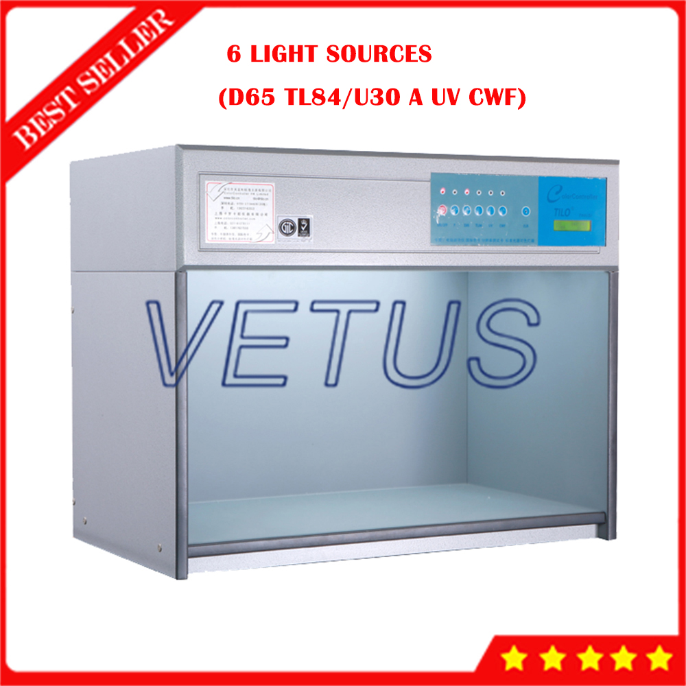 M60 Color Matching Light Box Color Matching Cabinet With 6 Light Sources Color Assessment Light Box Color matching booths