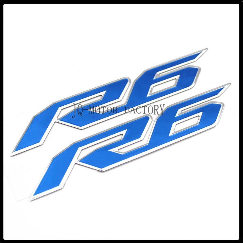 Fur YAMAHA R6 Motorrad Emblem Abzeichen Aufkleber 3D Tank Rad Logo In
