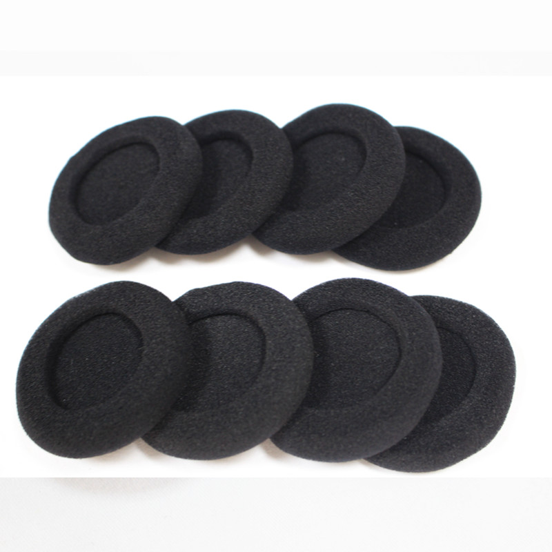 Linhuipad Free Shipping 10pcs 50mm Headset Foam Ear Cushions headphone Earpads Suit for PX100 PX200 PX80 PC131 headphones in Earphone Accessories from Consumer Electronics