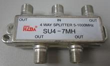 Новый ТЕЛЕВИЗОР, как Тони кабель сплиттер один пункт два одной точке четыре телевизионных дистрибьютор сигнала splitter