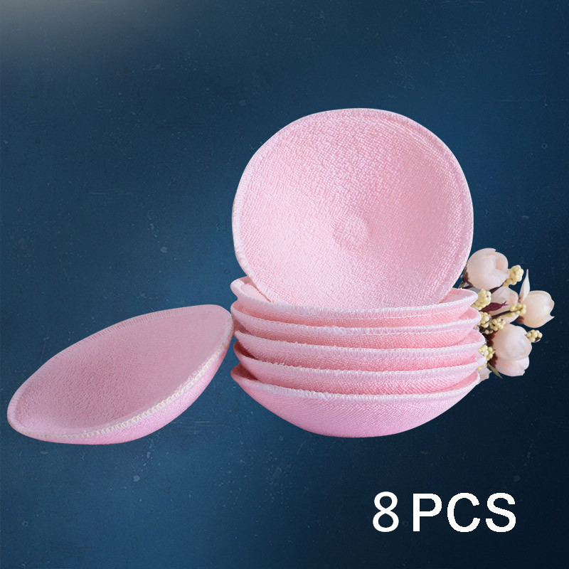 Breast Absorbent Pads Feeding Nursing Reusable High Quality Soft Cotton Mom Spill Prevention Pads Bra Breast Feeding Washable