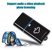 USB Kablosuz WiFi Depolama Flash Sürücü TF/SD Kart Okuyucu iPhone iPad Android Akıllı Telefon PC Için 2 MB iOS Windows için