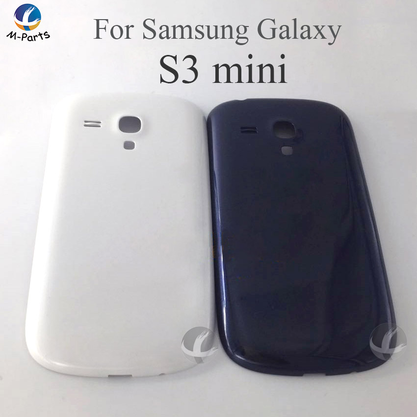 Rear Housing Cover Plastic For Samsung Galaxy S3 mini S3mini <font><b>i8190</b></font> i8200 <font><b>Back</b></font> Case <font><b>Battery</b></font> Door Cover Case Lid New (Not S3) image