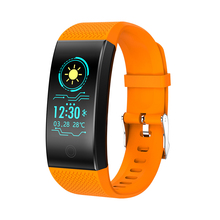 QW18 Smart Watch Blood Pressure smart Bracelet Heart Rate Monitor Sleep Fitness Tracker Smart Wristband IP68 недорого
