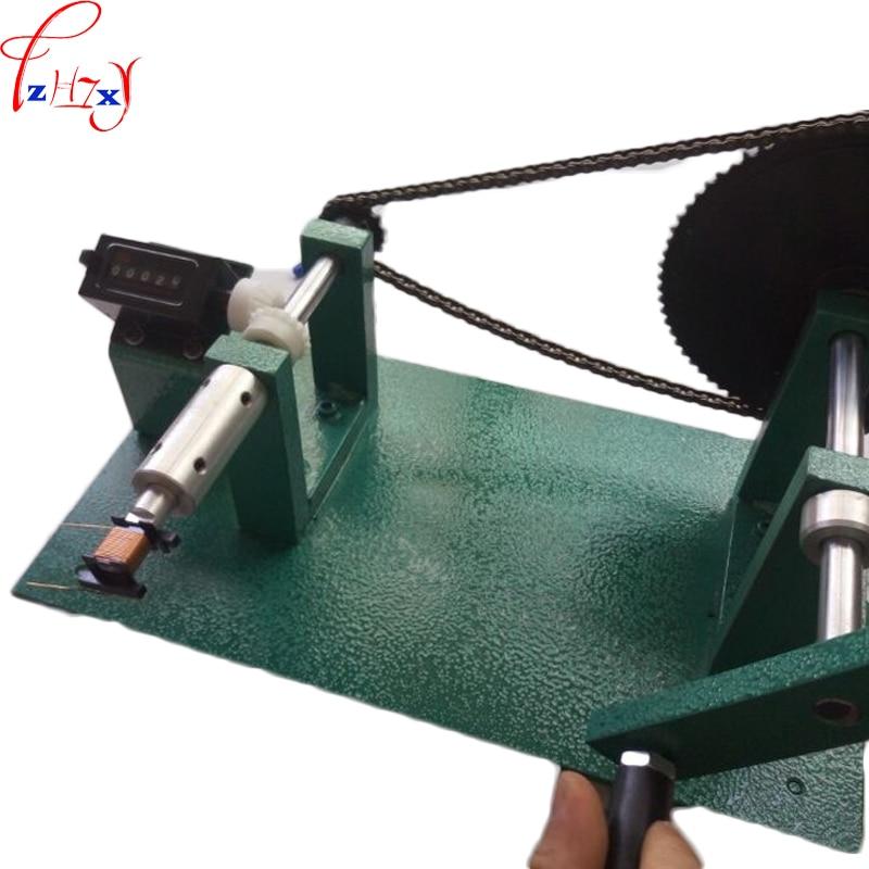 Manual winding machine YT 288 manual counting winding machine electronic transformer winding machine