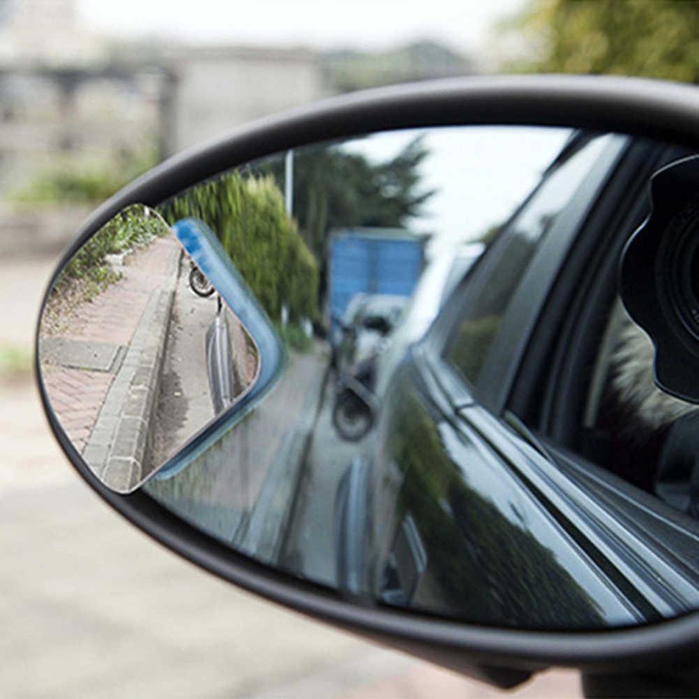 1 пара, универсальное регулируемое Автомобильное Зеркало, авто, широкоугольное боковое зеркало заднего вида, регулируемое зеркало для слепого пятна, аксессуары для автомобиля