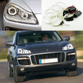 Для Porsche Cayenne 2007 2008 2009 Отлично комплект Angel Eyes Ultrabright лампы подсветки ccfl angel eyes kit Halo Кольцо