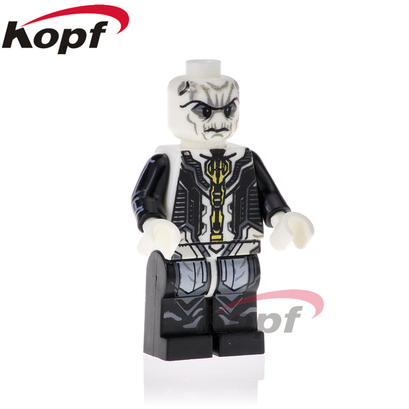 20Pcs PG1571 Super Heroes Ebony Maw Black Panther War Machine Ronin Thor Doctor Strange Building Blocks Action Toys For Children