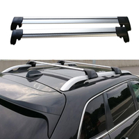 Car New Strap Roof Rack Rail Cross Bars Luggage Carrier For Jeep Cherokee 2013 2014 2015